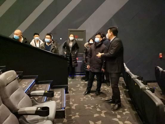 長春市開展新年影院行業疫情防控及安全生産指導排查工作