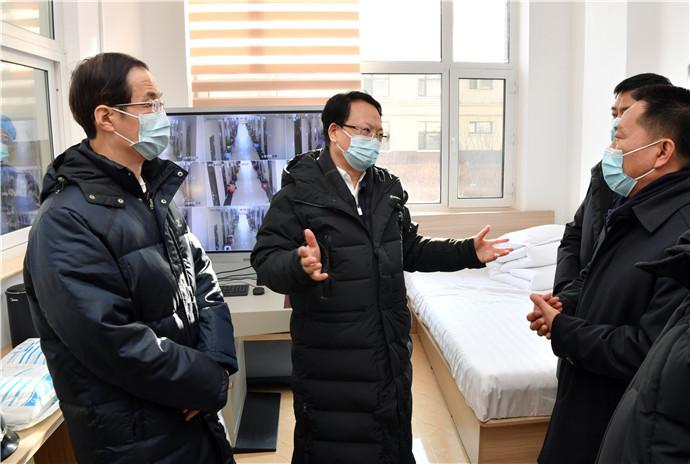 景俊海到通化檢查工作並主持召開省疫情防控領導小組會議