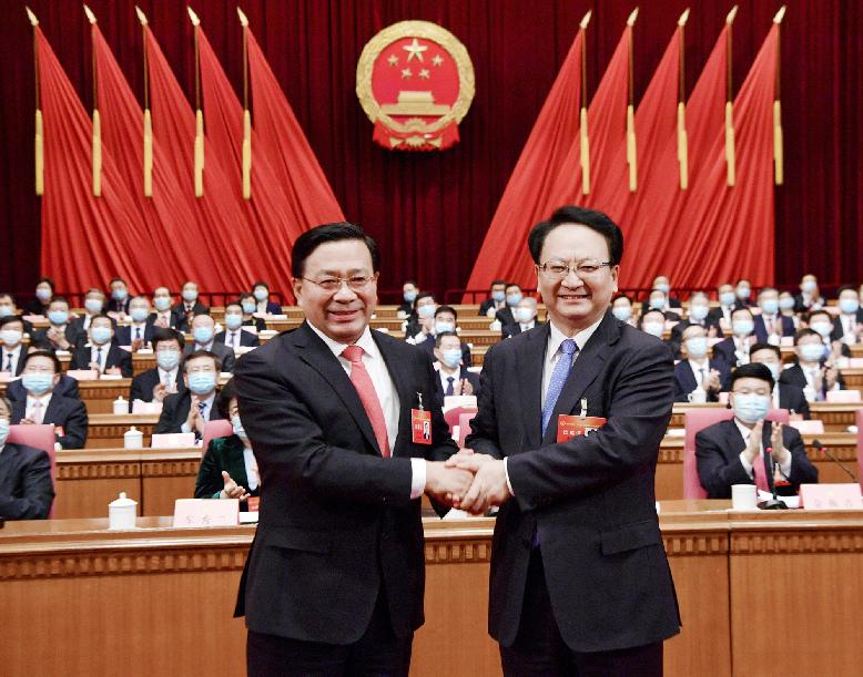吉林省十三届人大四次会议闭幕