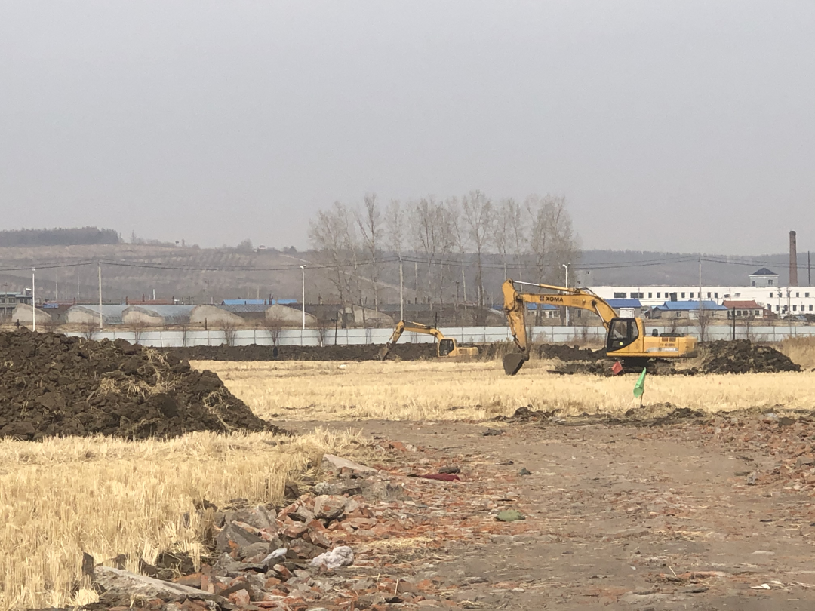 龙井市技术人才双创园正式开工建设