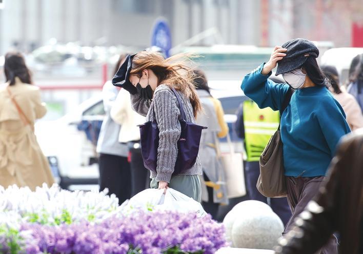 12日风力较大 13日吉林全省降温