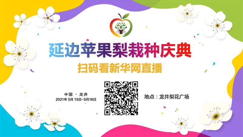 新华直播:延边苹果梨栽种庆典