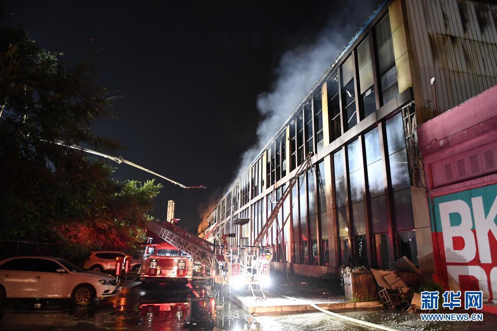 长春一物流仓库发生火灾已致14死12重伤