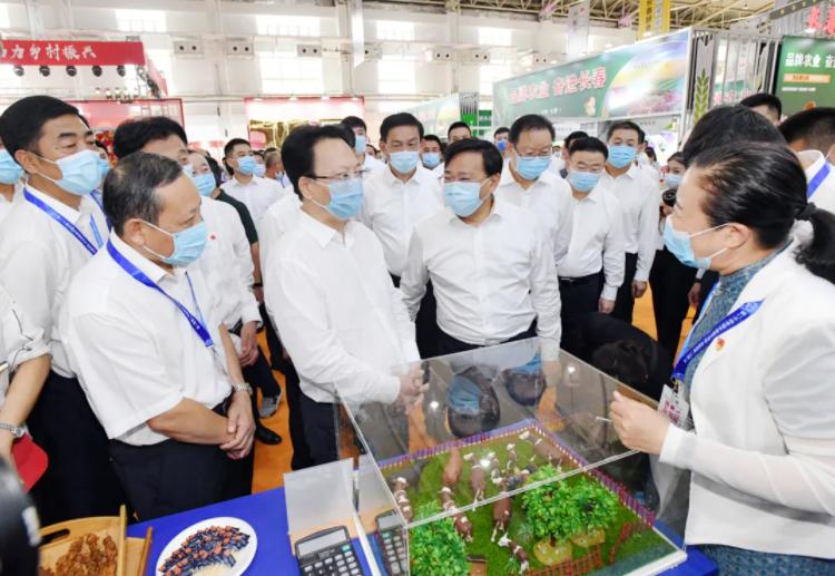 第二十届中国长春国际农业·食品博览(交易)会开幕